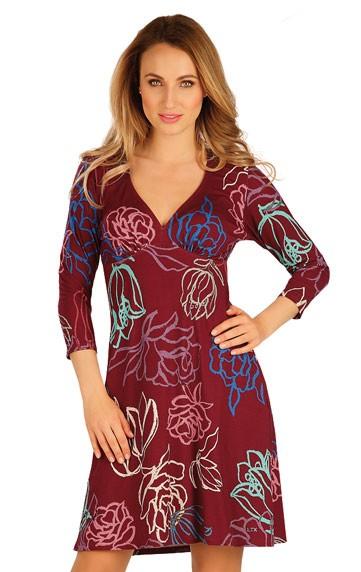 Dámské šaty s 3/4 rukávem Litex 60027
