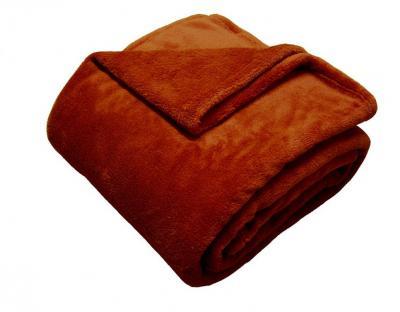 Super soft deka Dadka cihlová