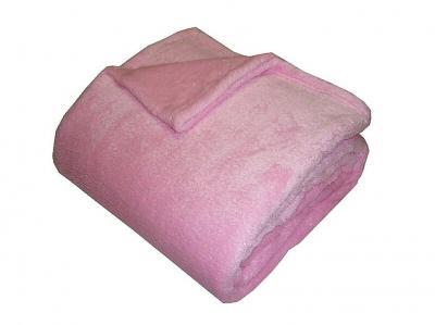 Super soft deka Dadka růžová