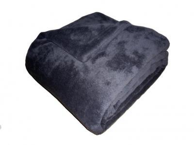 Super soft deka Dadka tmavě šedá