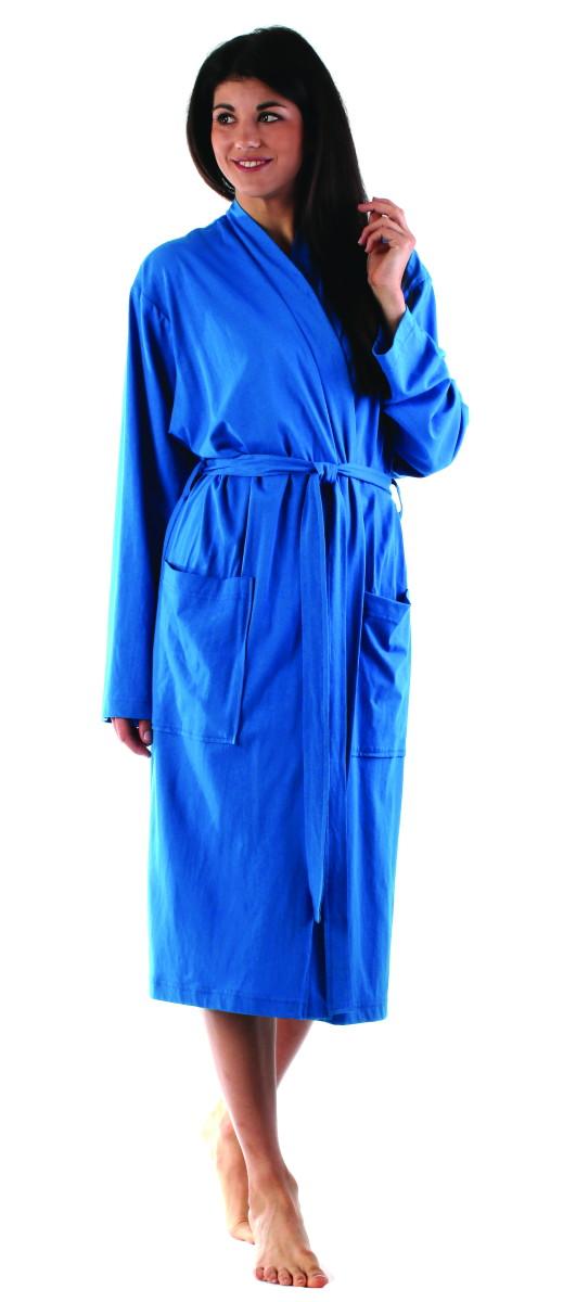 Unisex župan Vestis Paul 1269 100% bavlna modrá
