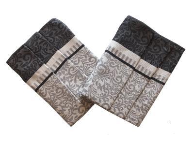 Utěrka Extra savá Ornamenty šedé - 3 ks