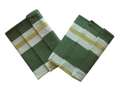 Utěrka Extra savá Zeleno-žlutý pruh - 3 ks