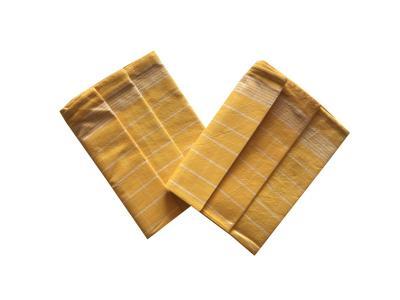 Utěrka Pozitiv Egyptská bavlna žlutá/bílá - 3 ks