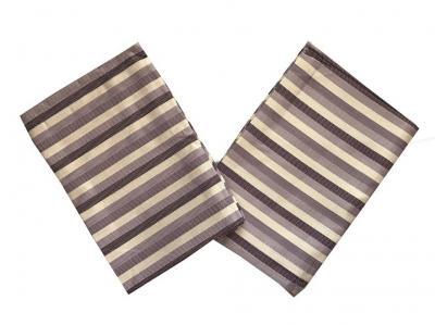 Utěrky Bambus Pruh fialový - 3 ks