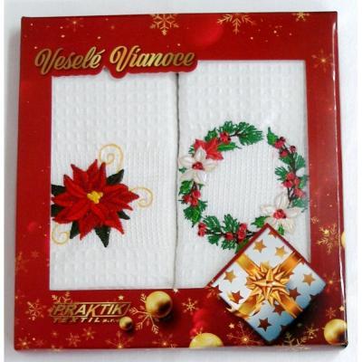 Vánoční dárková sada utěrek - 2 ks